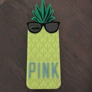 PINK Victoria's Secret pineapple case